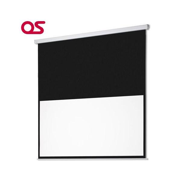 【安さと信頼】80インチ 電動スクリーン OS オーエス SEC-080HM-R2-WG(アスペクト比16:9)