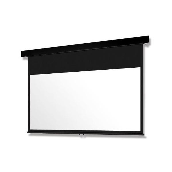 90インチ 手動 スクリーン(ウルトラビーズ) OS オーエス SMP-090HM-K3/W3-BU201(黒/白パネル)
