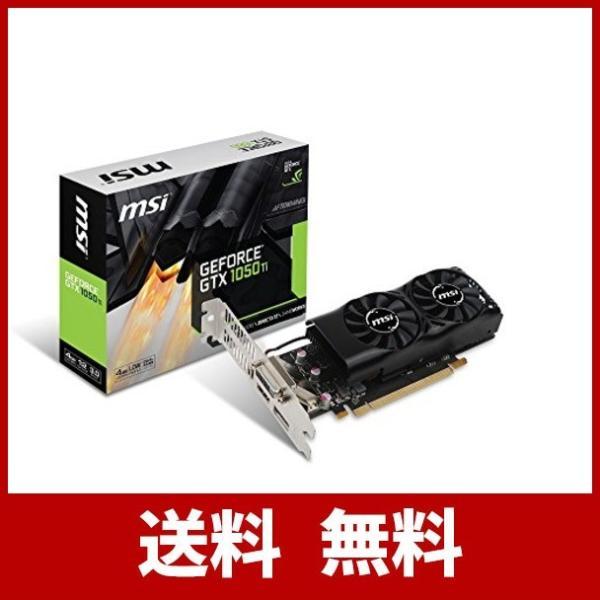 MSI GeForce GTX 1050 Ti 4GT LP グラフィックスボード LPモデル VD6238|ehtb-ys