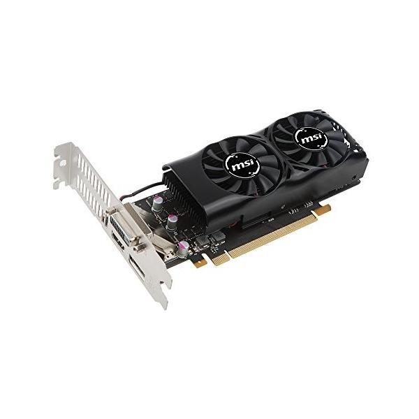 MSI GeForce GTX 1050 Ti 4GT LP グラフィックスボード LPモデル VD6238|ehtb-ys|05