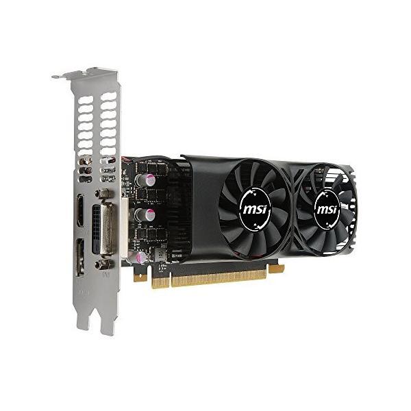 MSI GeForce GTX 1050 Ti 4GT LP グラフィックスボード LPモデル VD6238|ehtb-ys|06