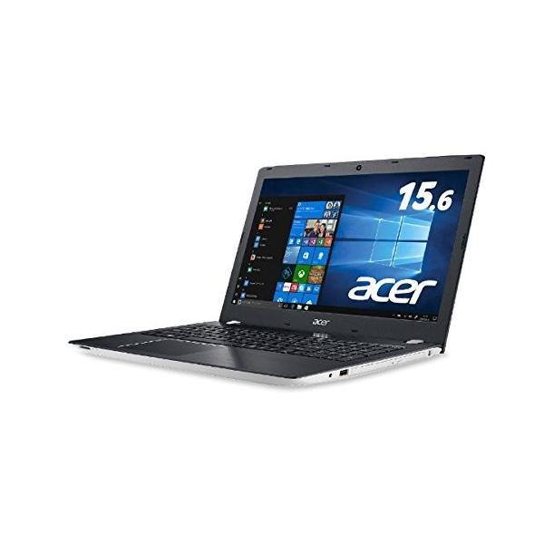 ACER E5-576-N34D/W ノートパソコン Aspire E 15 マーブルホワイト [15.6型 /intel Core i3 /HDD:500GB /メモリ:4GB]の画像