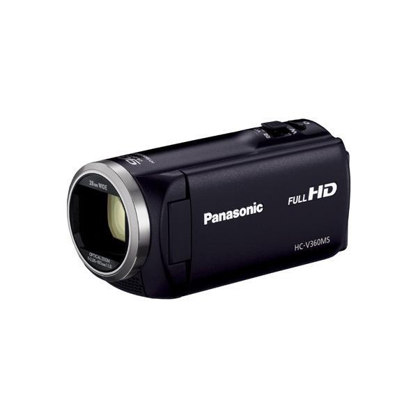 パナソニック Panasonic HC-V360MS-K デジタルハイビジョンカメラ 16GB ブラック 新品