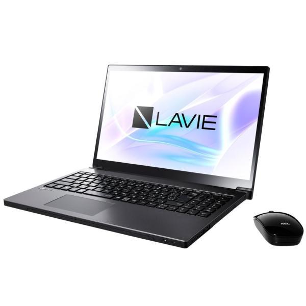 NEC PC-NX550JAB ノートパソコン LAVIE Note NEXT グレイスブラックシルバー [15.6型 /intel Core i5 /HDD:1TB /メモリ:4GB /2017年10月モデル]の画像