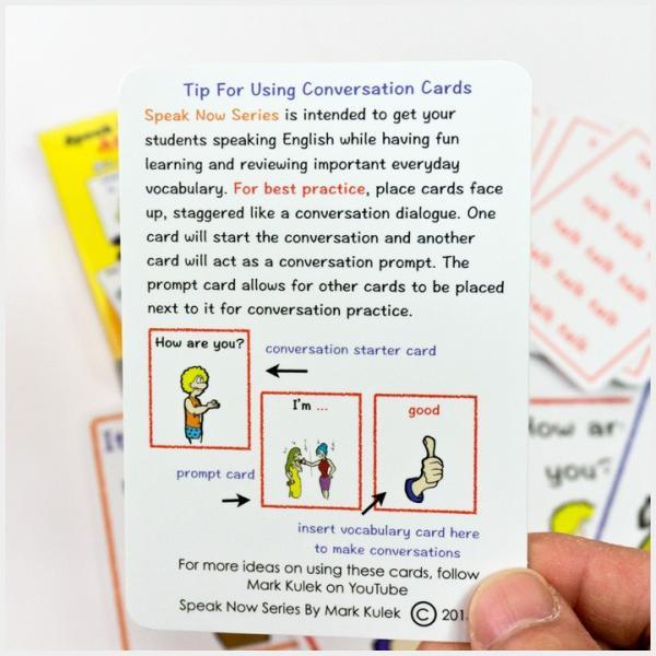 英語教材 Speak Now Series At Home カードゲーム 英会話|eigoden|03