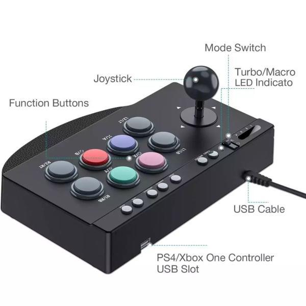アケコン 10ボタン ゲーセン アーケードコントローラー PS4 スイッチ対応 eimies-osaka 03