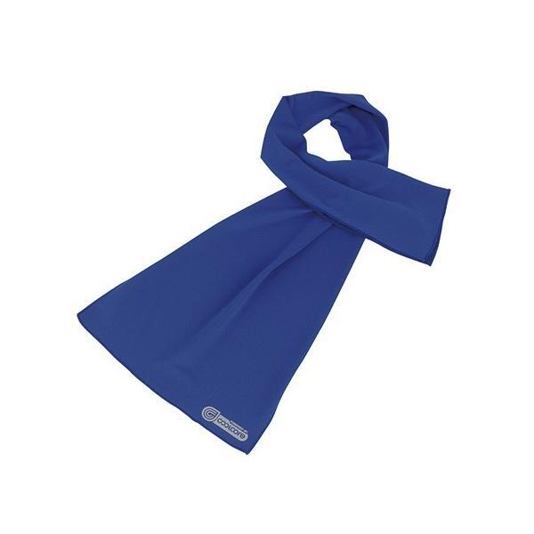 COOLCORE クールコアタオル ブルー 403031-10 フットマーク (7-4968-02)(メール便)