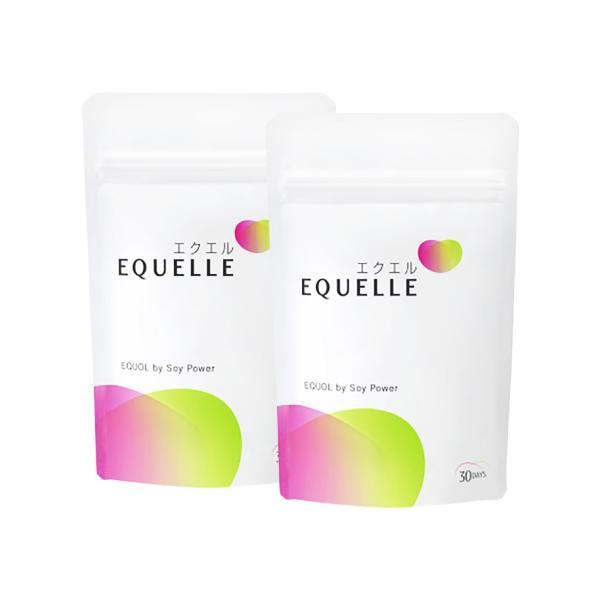 大塚製薬 エクエル パウチ 120粒 2袋 エクオール 大豆イソフラボン サプリ 2個 2個セット EQUELLE|eisin1