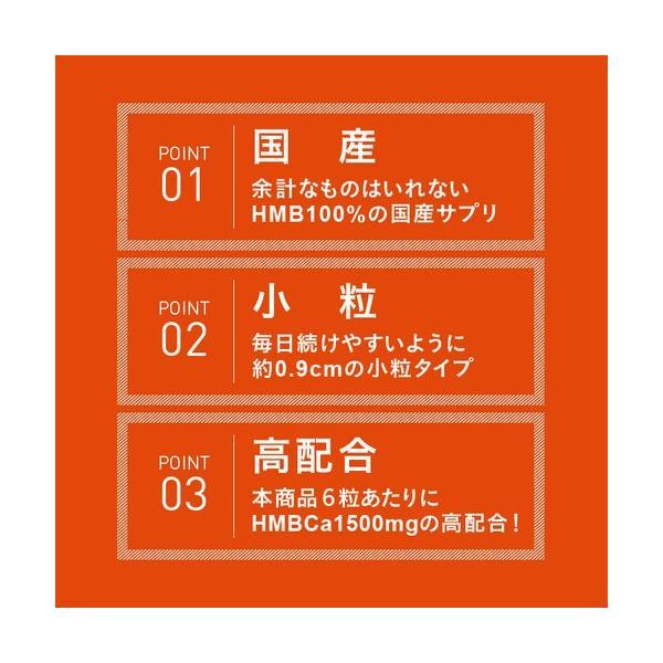 【消費期限2019年12月】HMB サプリメント 180粒  45,000mg 2個買うと1袋おまけ|eisin1|09