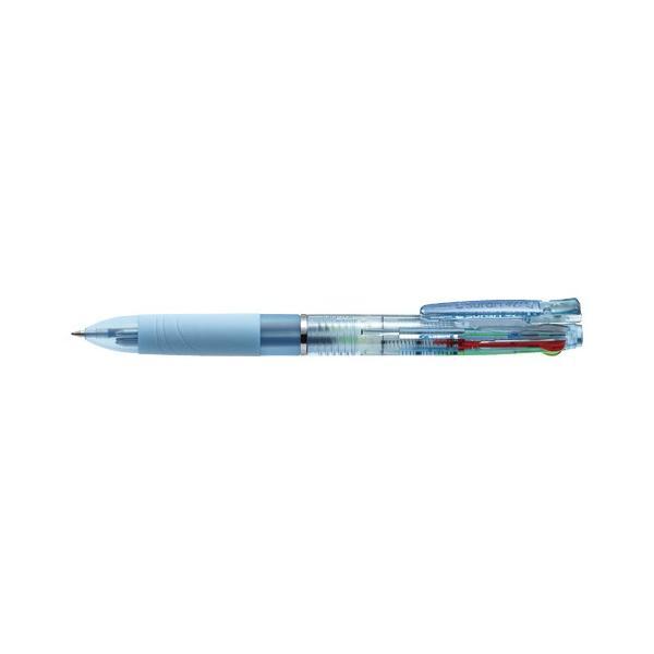 スラリ4C 0.7 [黒/青/赤/緑] 0.7mm ライトブルー B4A11-LB