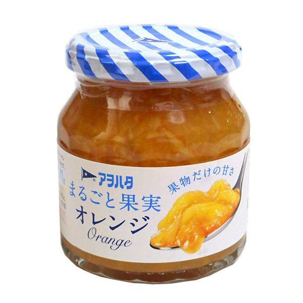 ★まとめ買い★ アヲハタ まるごと果実オレンジ250g ×6個【イージャパンモール】