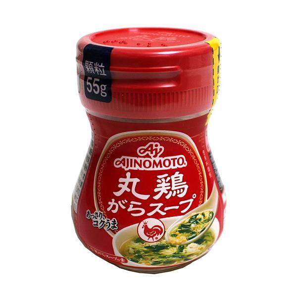【送料無料】★まとめ買い★ 味の素 丸鶏がらスープ瓶55g ×10個【イージャパンモール】