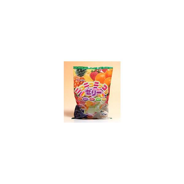 【送料無料】★まとめ買い★ 七尾製菓 ニコニコニッコリゼリー 40個 ×10個【イージャパンモール】