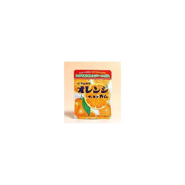 【送料無料】★まとめ買い★ 丸川製菓 チャック袋オレンジフーセンガム 47g ×10個【イージャパンモール】