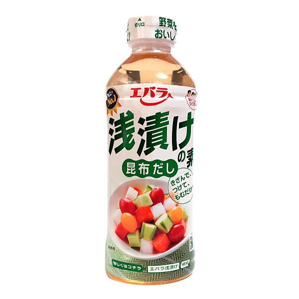 ★まとめ買い★ エバラ 浅漬けの素昆布だし 500ml ×12個【イージャパンモール】