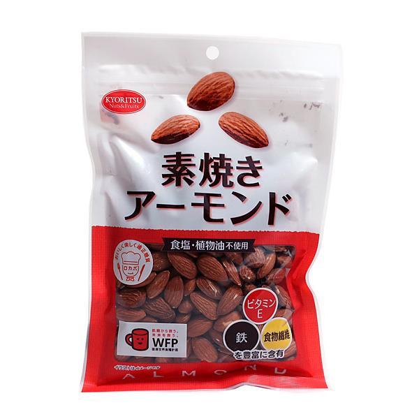 ★まとめ買い★ 共立 素焼きアーモンド徳用 220g ×12個【イージャパンモール】