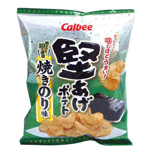 ★まとめ買い★ カルビー 堅あげポテト焼きのり味65g ×12個【イージャパンモール】