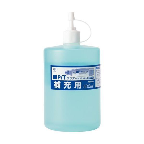 トンボ鉛筆 液体のり アクアピット 補充用 500ml 1個