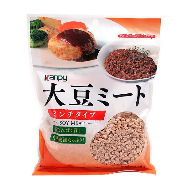 ★まとめ買い★ カンピー 大豆ミートミンチ 115G ×20個【イージャパンモール】