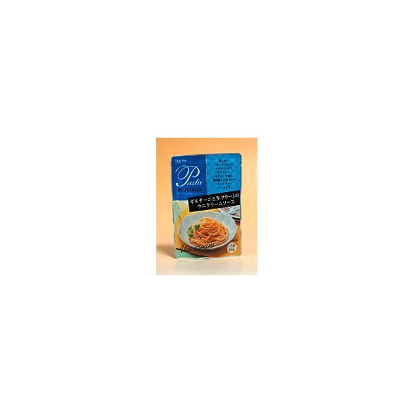 ★まとめ買い★ ハチ ポルチーニと生クリームのウニクリームソース 130g ×24個【イージャパンモール】