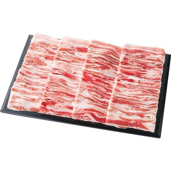 【送料無料】スペイン産イベリコ豚 しゃぶしゃぶ用バラ(2kg) GD−17−25【代引不可】【ギフト館】