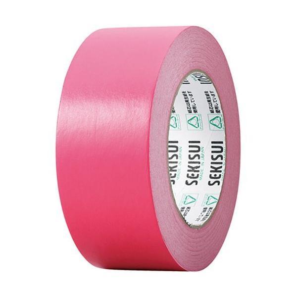 積水化学 カラークラフトテープ#500WC 50mm×50m 赤 1巻