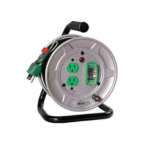 日動工業 電工ドラム(コード10M)(単相100V) アース・ブレーカー付 1台