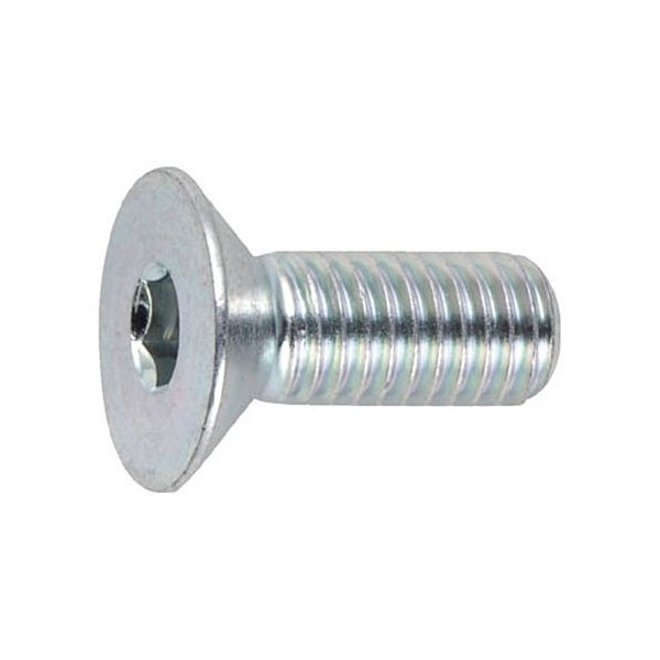 TRUSCO 三価クロメート(白) 六角穴付皿ボルト 寸法M8×30mm 1パック(9本)