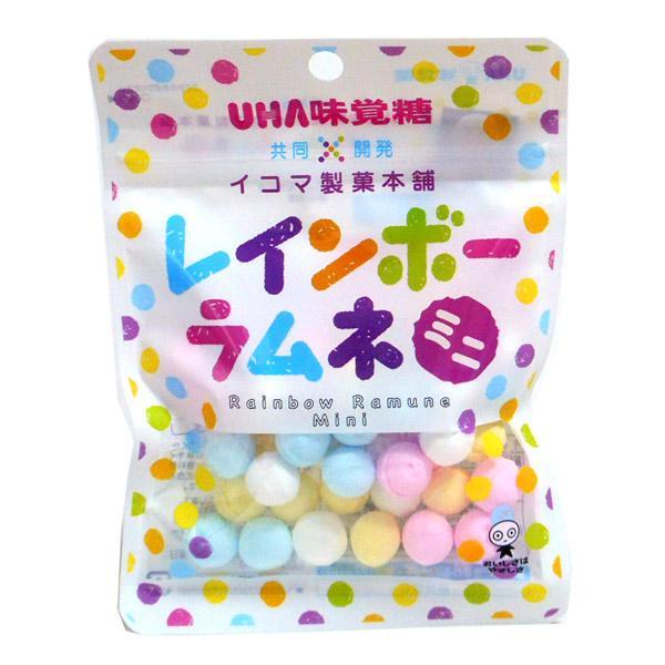 UHAピピン レインボーラムネミニ 40g【イージャパンモール】