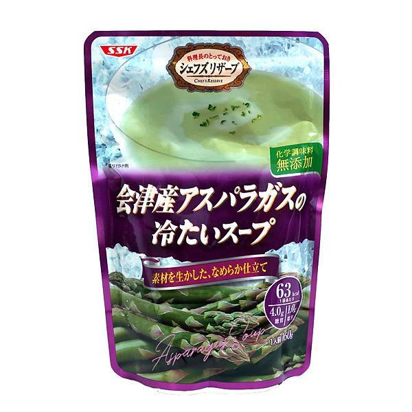 清水 会津産アスパラガスの冷たいスープ160g【イージャパンモール】