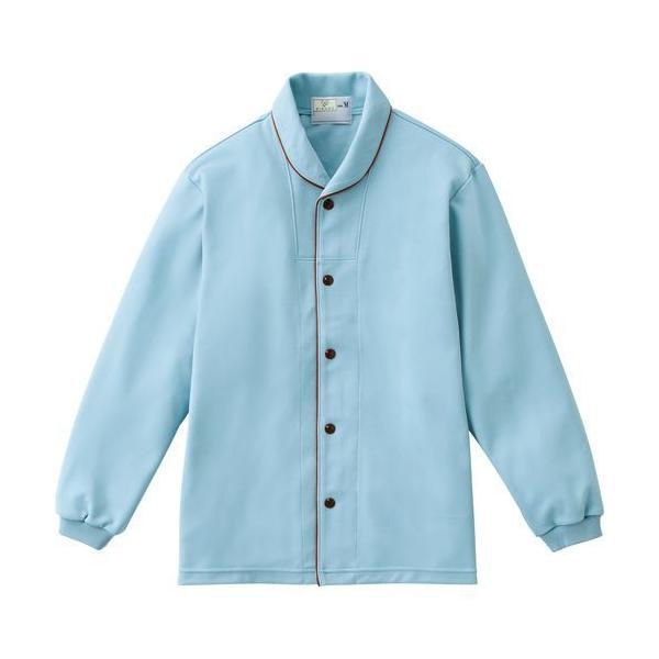 トンボ 前開きシャツ CR836 ブルー Sサイズ 1枚