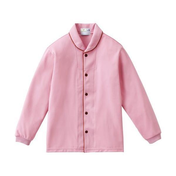 トンボ 前開きシャツ CR836 ローズピンク Lサイズ 1枚