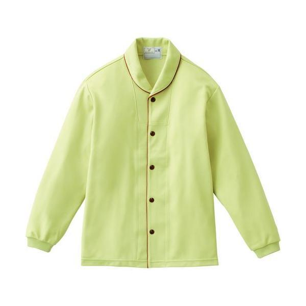 トンボ 前開きシャツ CR836 グリーン Mサイズ 1枚