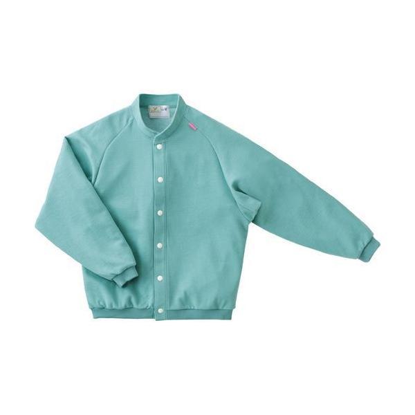トンボ 前開きシャツ CR805 エメラルドグリーン Lサイズ 1枚