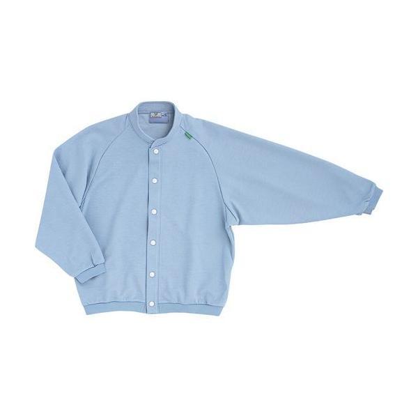 トンボ 前開きシャツ CR805 インクブルー Lサイズ 1枚