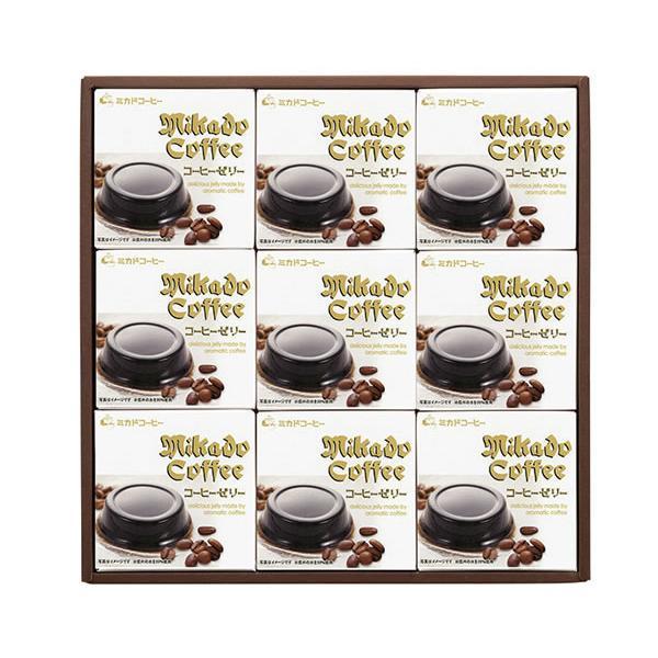 【送料無料】ミカド珈琲 コーヒーゼリー CZ−30【ギフト館】