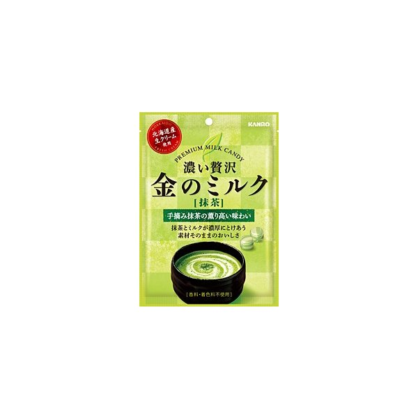 ★まとめ買い★ カンロ 金のミルクキャンディ 抹茶 ×6個【イージャパンモール】