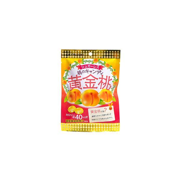 ★まとめ買い★ (株)黄金糖 黄金糖 桃のキャンディ黄金桃 50g ×10個【イージャパンモール】