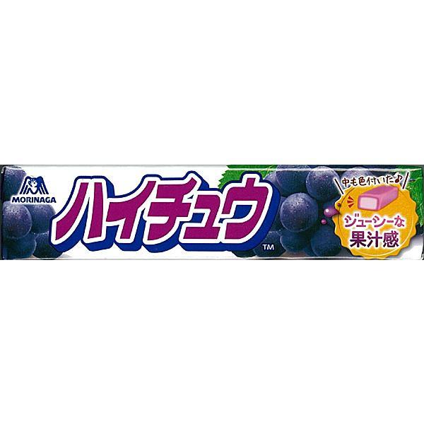 【送料無料】森永製菓 ハイチュウ グレープ 12粒 ×12個【イージャパンモール】