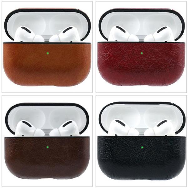 AirPods Pro ケース カバー エアーポッズカバー イヤホンアクセサリー レザー 耐衝撃 落下防止 収納 保護 ソフトケース シンプル 可愛い|ejej-shopping|09