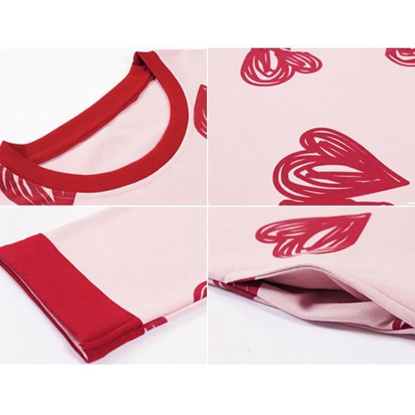 パジャマ ルームウェア ワンピース ロング レディース 寝巻き 部屋着 体型カバー ソフト 長袖 可愛い 女性 新作|ejej-shopping|17