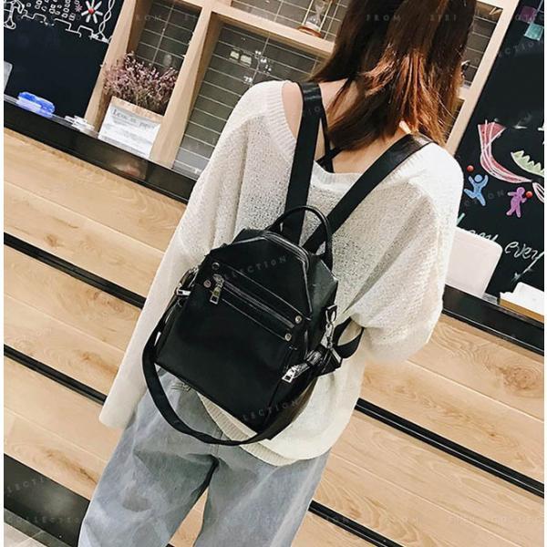 リュックサック マザーズバッグ PUレザー 可愛い 女性 通勤 通学 ショルダー バッグ|ejej-shopping|11