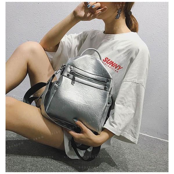 リュックサック マザーズバッグ PUレザー 可愛い 女性 通勤 通学 ショルダー バッグ|ejej-shopping|04
