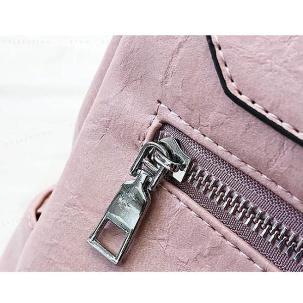 リュックサック マザーズバッグ PUレザー 可愛い 女性 通勤 通学 ショルダー バッグ|ejej-shopping|07
