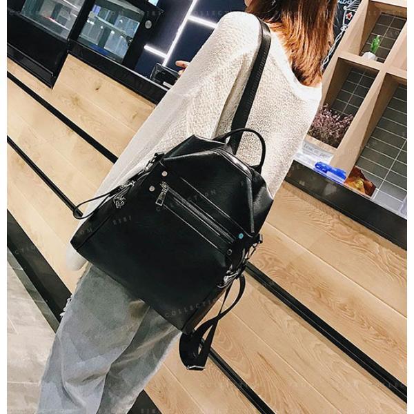 リュックサック マザーズバッグ PUレザー 可愛い 女性 通勤 通学 ショルダー バッグ|ejej-shopping|08