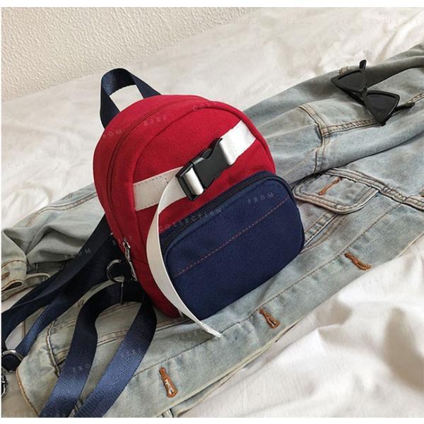 マザーズバッグ リュックサック 可愛い 女性 軽量 ミニ バック bag オックスフォード バッグ|ejej-shopping|18