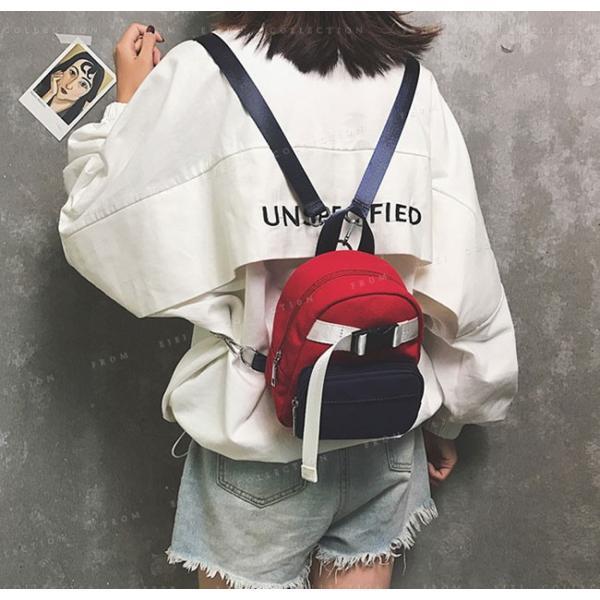 マザーズバッグ リュックサック 可愛い 女性 軽量 ミニ バック bag オックスフォード バッグ|ejej-shopping|06