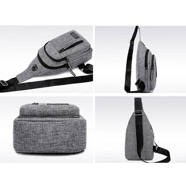 バッグ メンズ ボディバッグ メンズ ワンショルダー ボディーバッグ メンズ 斜めがけおしゃ 軽量13mkb19mar01|ejej-shopping|15