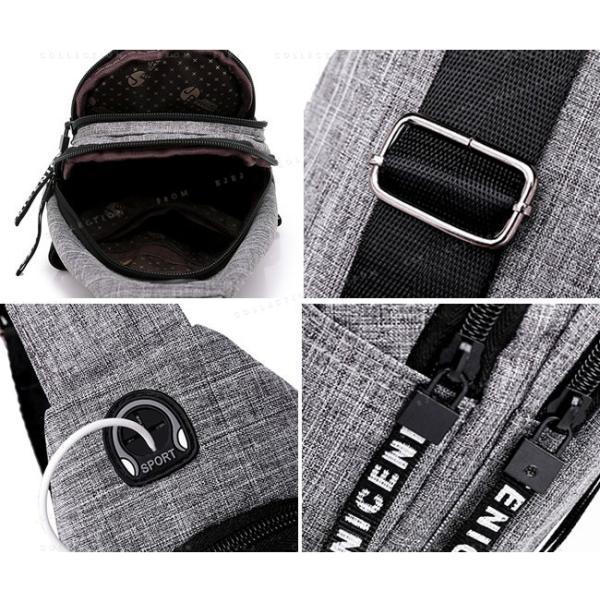 バッグ メンズ ボディバッグ メンズ ワンショルダー ボディーバッグ メンズ 斜めがけおしゃ 軽量13mkb19mar01|ejej-shopping|07