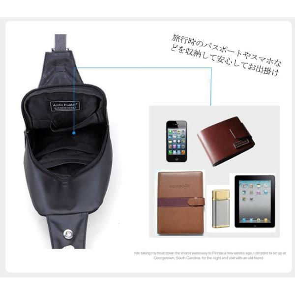 ボディバッグ メンズ ショルダーバッグ アウトドア ワンショルダー 防水 軽量|ejej-shopping|07